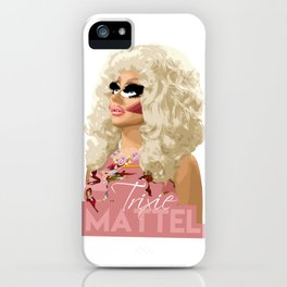 Trixie Mattel, RuPaul's Drag Race Queen iPhone Case