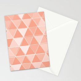 Coral Triangles Stationery Cards