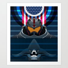 Pacific Rim, Jaws edition Art Print