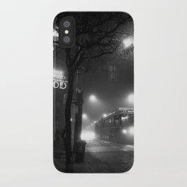 A Streetcar Named Noir iPhone Case