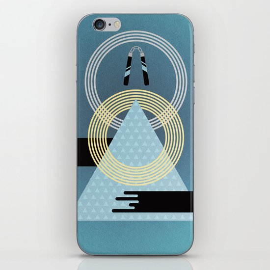Born to Explore Pt3 iPhone & iPod Skin
