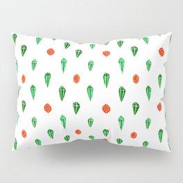 Emeralds & Rubies Pillow Sham