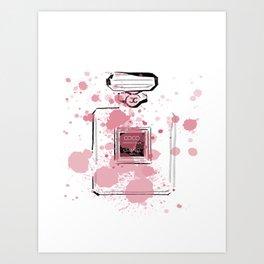 Pink Perfume #7 Art Print