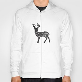 Venison Butcher Diagram-Deer Hoody