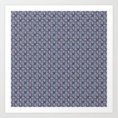 Geometric Pattern 6 Art Print