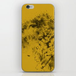 Mustard Sheep iPhone Skin