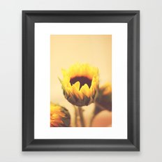 Begin Again Framed Art Print