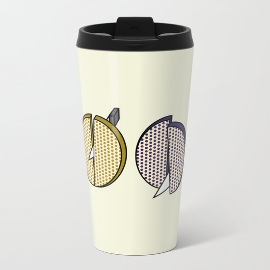 Food Metal Travel Mug