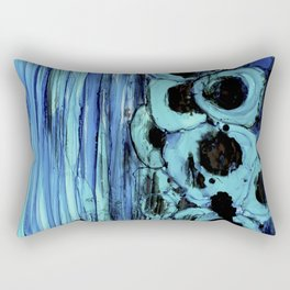 Underwater Breath Rectangular Pillow