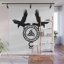 Raven - Triple Horn of Odin Wall Mural