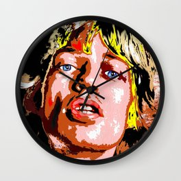 Mick J. Wall Clock