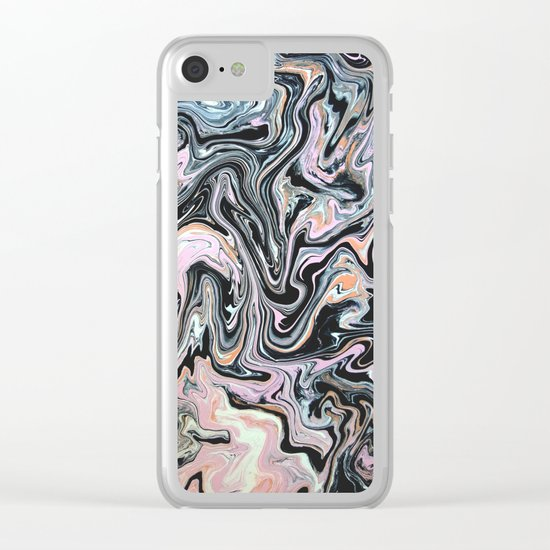 Have a little Swirl Clear iPhone Case