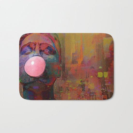 bubble gum  boy Bath Mat