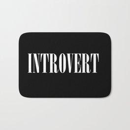 Introvert Bath Mat