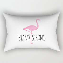 Stand Strong Rectangular Pillow