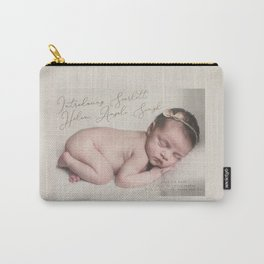Birth Announcement Carry-All Pouch