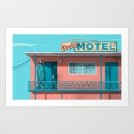 Motel Jesus Art Print