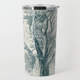 Antique Tree Illustration I Travel Mug