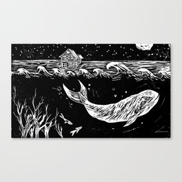 What was once the forest Canvas Print