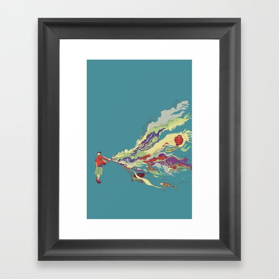 Bring it back Framed Art Print