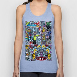 merge the weirdos and now all the things like the voltron kiddos Unisex Tank Top