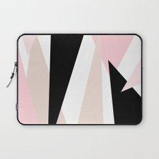 Blush Mod Triangles 2 Laptop Sleeve