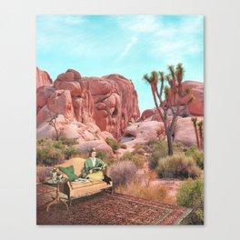 Desert Leisure Leinwanddruck