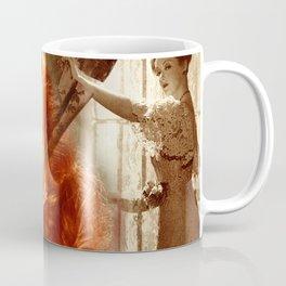 Bette Davis Collage Portrait Coffee Mug