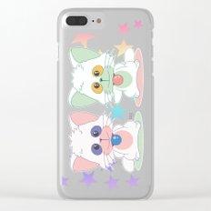 Creamy Mami: Posi and Nega Clear iPhone Case