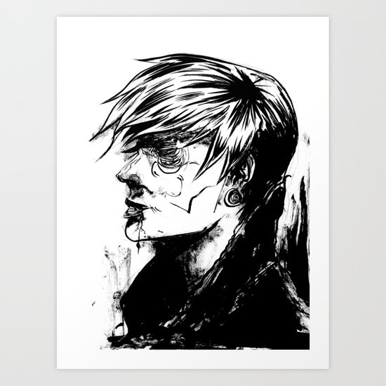 """Rough house Jake"" Art Print"