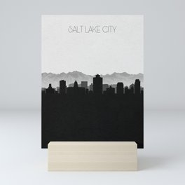 City Skylines: Salt lake City Mini Art Print