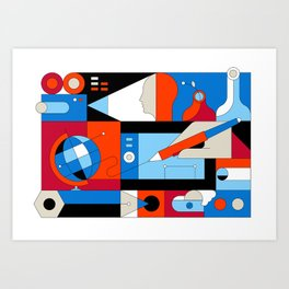 World View Art Print