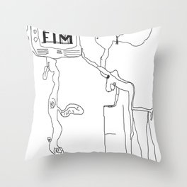 FIM FOR KNOWLEDGE Throw Pillow