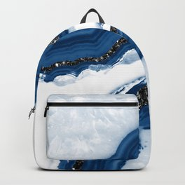 Agate Glitter Glam #14 #gem #decor #art #society6 Backpack