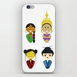 Asian Dolls iPhone Skin
