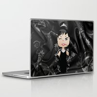audrey Laptop & iPad Skins featuring Audrey by 7pk2 online