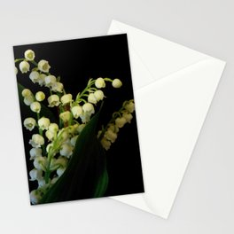lilly of the valley 3 Stationery Cards