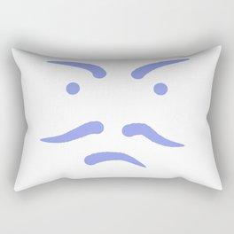 Le visage Rectangular Pillow