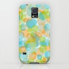 Pebbles Turquoise Galaxy S5 Slim Case