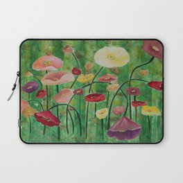 Poppies for Mother Laptop Sleeve
