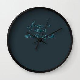 Some Kind of Madness - Muse Lyrics Wall Clock