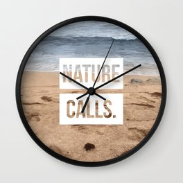Nature Calls | 1 Wall Clock