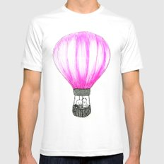 Balloon Mens Fitted Tee White MEDIUM