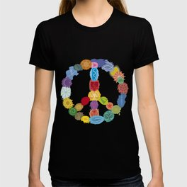Peace Sign In Colors T-shirt