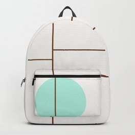 Balm 01 // ABSTRACT GEOMETRY MINIMALIST ILLUSTRATION Backpack