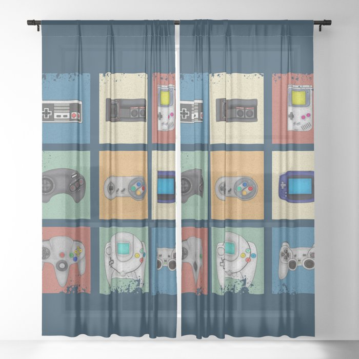 14 Aesthetic Gamer Window Curtains