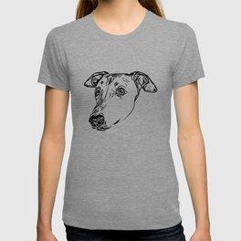 Greyhound Line Art T-shirt