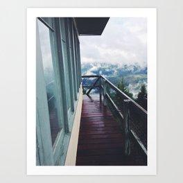 Bald Mountain Lookout Art Print