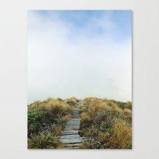 New Zealand Cloud Track Canvas Print