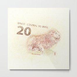 20 Reales Metal Print